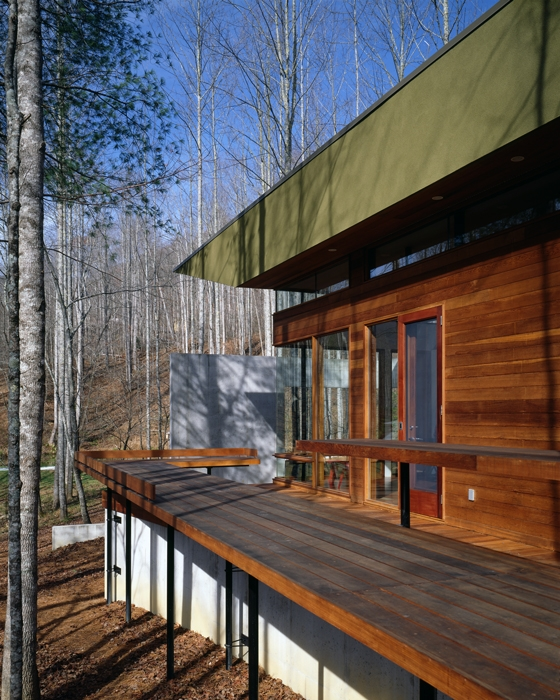 Modern mountain home designs north georgia